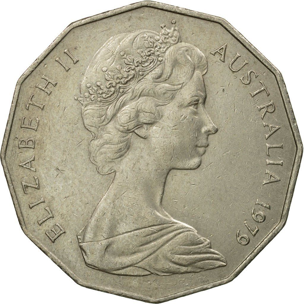Fifty Cents 1979: Photo Coin, Australia, Elizabeth II, 50 Cents, 1979