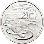 Australia / Twenty Cents 2011 / Silver Proof FDC - reverse photo