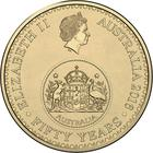 Australia / One Dollar 2016 Changeover - obverse photo