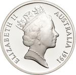 Australia / Ten Cents 1991 / Silver Proof FDC - obverse photo