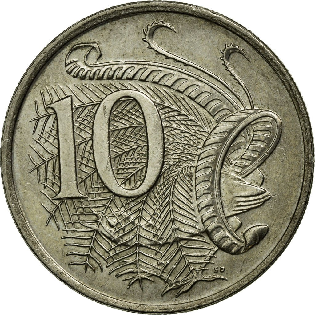 Ten Cents 1982: Photo Coin, Australia, 10 Cents, 1982
