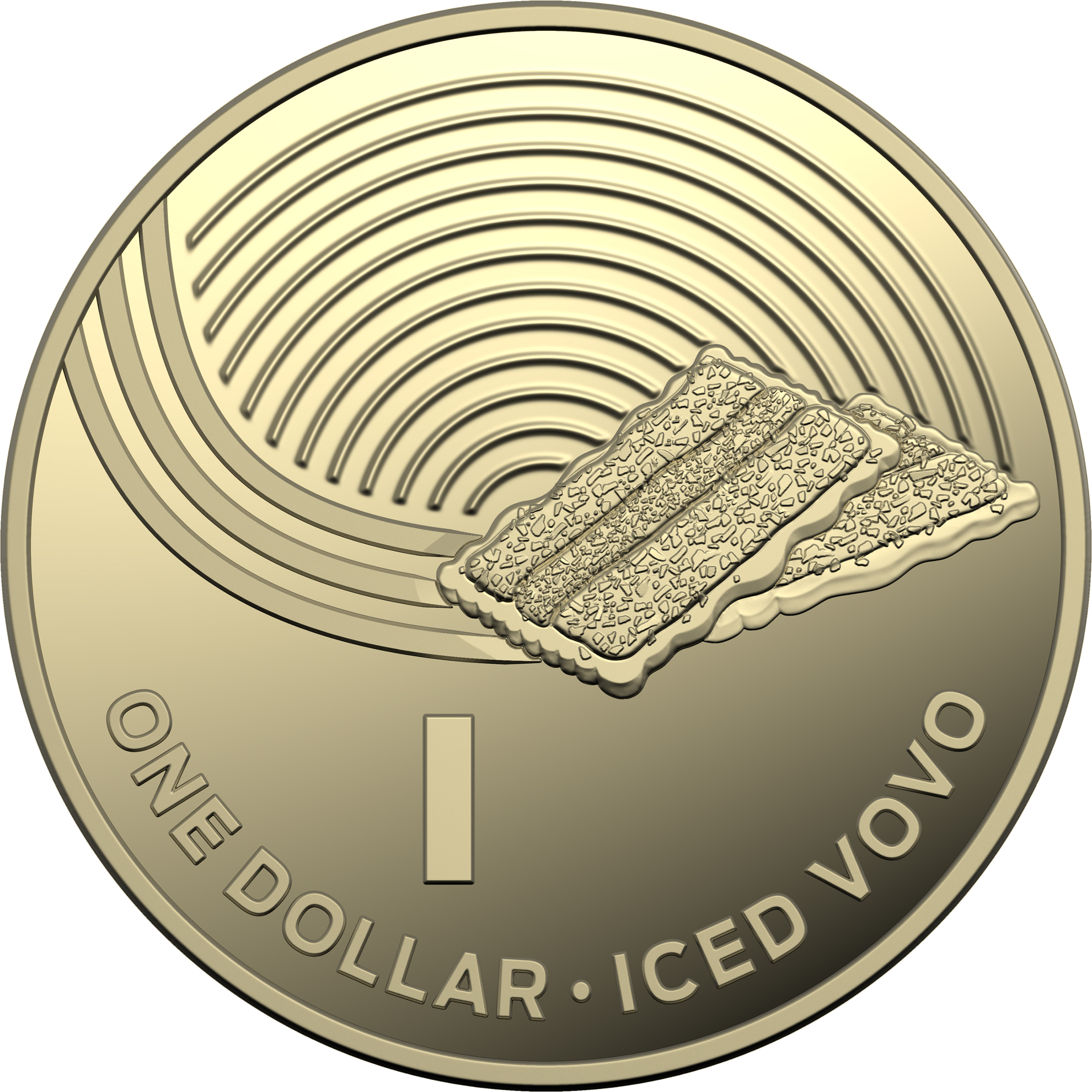 One Dollar 2019 I - Iced Vovo: Photo 2019 $1 Proof Coin Collection - Iced Vovo