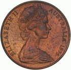 Australia / Two Cents 1975 - obverse photo