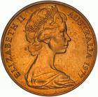 Australia / Two Cents 1977 - obverse photo