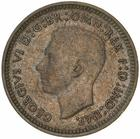 Threepence 1941: Photo Coin - Threepence, Australia, 1941