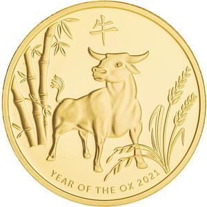Australia / Gold Ounce 2021 ABC Bullion - Year of the Ox - reverse photo