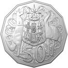 Australia / Fifty Cents 2019 (Third Portrait) - reverse photo