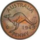 Australia / Penny 1949 / Proof - reverse photo