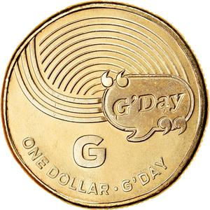 Australia / One Dollar 2019 G - G'day - reverse photo