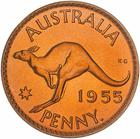 Australia / Penny 1955 / Proof (Perth Mint) - reverse photo