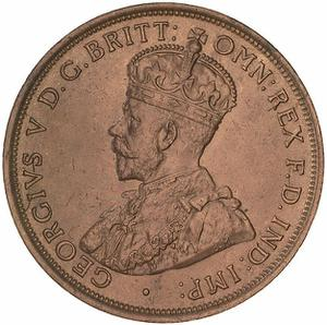 Australia / Penny 1911 - obverse photo