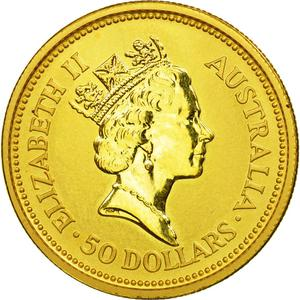 Australia / Gold Half Ounce 1993 - reverse photo