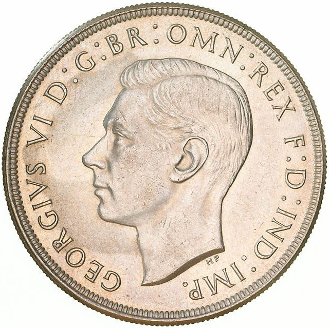 Crown 1937: Photo Coin - Crown (5 Shillings), Australia, 1937