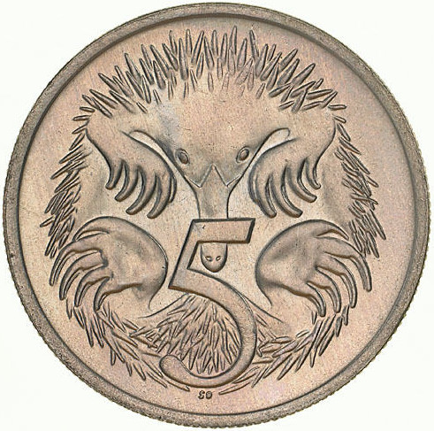 Five Cents 1973: Photo Coin - 5 Cents, Australia, 1973