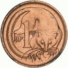 Australia / One Cent 1972 - reverse photo