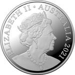 Australia / Five Cents 2021 / Proof FDC - obverse photo