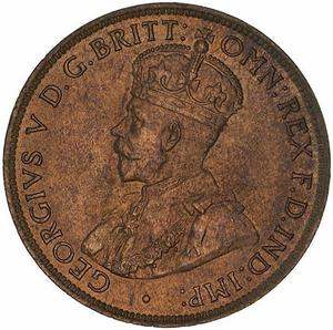 Australia / Halfpenny 1911 - obverse photo