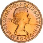 Australia / Penny 1955 - obverse photo