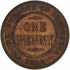 Penny 1912: Photo Coin - 1 Penny, Australia, 1912