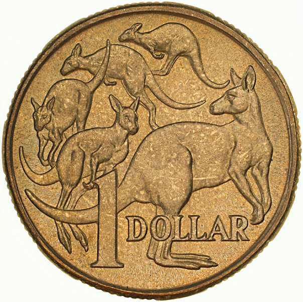 One Dollar 1991 (mint sets only): Photo Coin - 1 Dollar, Australia, 1991