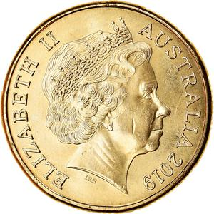 Australia / One Dollar 2019 G - G'day - obverse photo