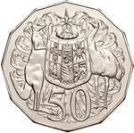 Australia / Fifty Cents 2006 / In mint sets - reverse photo