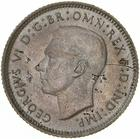 Sixpence 1940: Photo Coin - Sixpence, Australia, 1940