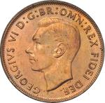 Australia / Penny 1950 - obverse photo