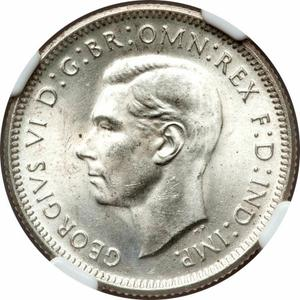 Australia / Shilling 1940 - obverse photo