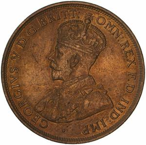 Australia / Penny 1912 - obverse photo