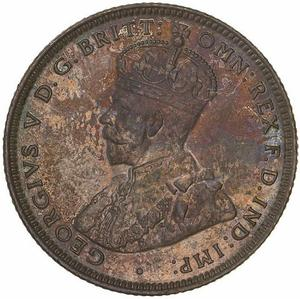 Australia / Shilling 1920 - obverse photo
