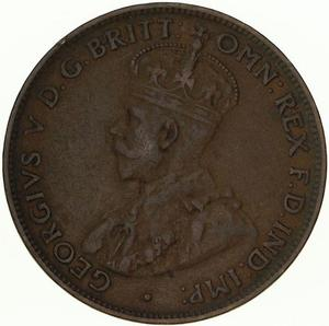Australia / Halfpenny 1930 - obverse photo
