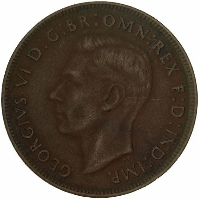 Penny 1939, Coin from Australia - Online Coin Club