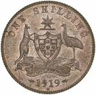 Australia / Shilling 1919 (pattern) - obverse photo