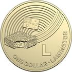 Australia / One Dollar 2019 L - Lamington - reverse photo