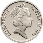 Australia / Ten Cents 1991 / Proof FDC - obverse photo