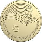 Australia / One Dollar 2019 S - Surf Life Saving - reverse photo