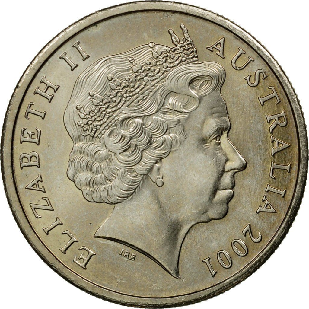 Five Cents 2001: Photo Coin, Australia, Elizabeth II, 5 Cents, 2001