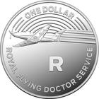 Australia / One Dollar 2019 R - Royal Flying Doctor Service / Silver Proof FDC - reverse photo