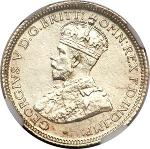 Australia / Sixpence 1911 - obverse photo