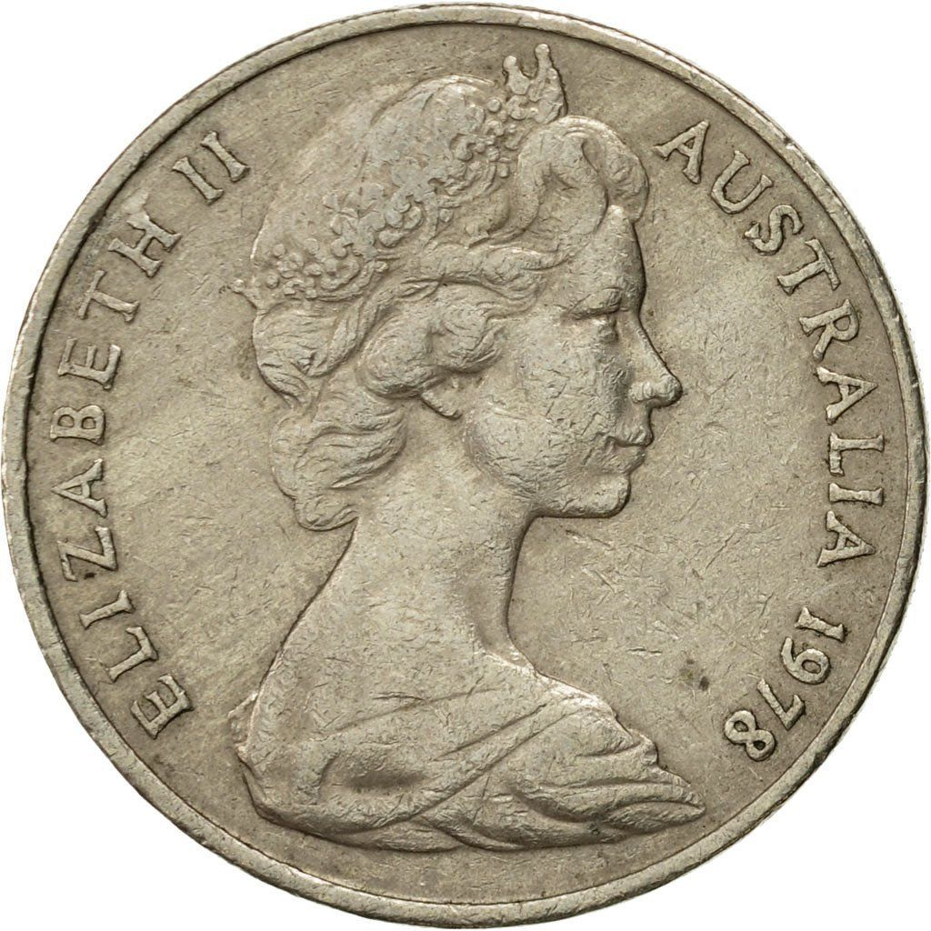Twenty Cents 1978: Photo Coin, Australia, Elizabeth II, 20 Cents, 1978