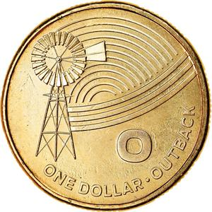 Australia / One Dollar 2019 O - Outback - reverse photo