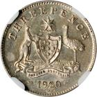 Threepence 1920: Photo Australia 1920-M 3 pence