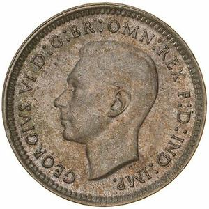 Australia / Threepence 1944 - obverse photo