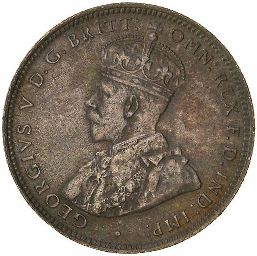 Shilling 1914: Photo Coin - 1 Shilling, Australia, 1914