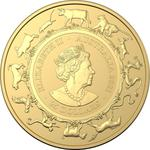 Australia / Gold Quarter Ounce 2021 Year of the Ox (RAM) - obverse photo