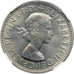 Australia / Florin 1960 - obverse photo
