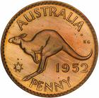 Penny 1952: Photo Proof Coin - 1 Penny, Australia, 1952