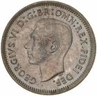 Sixpence 1951: Photo Coin - Sixpence, Australia, 1951