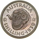 Australia / Shilling 1939 / Proof - reverse photo